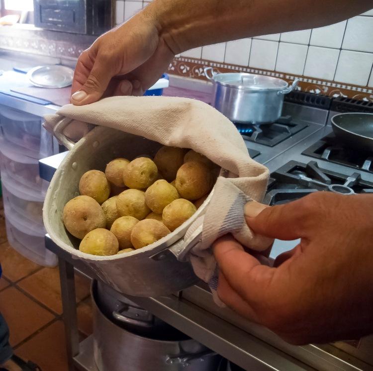 Tenerife potatoes