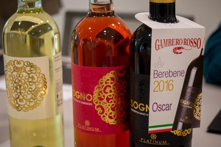 Sogno wine range