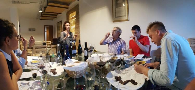 Wine writers in Abruzzo