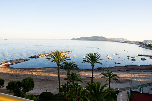 The view from Hotel Torre del Mar