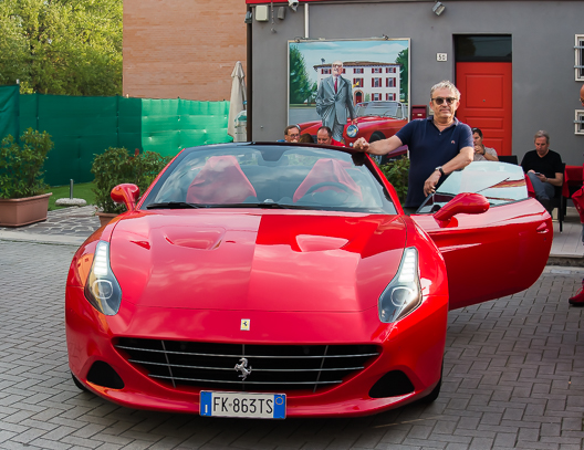 Ferrari California in Marranelo