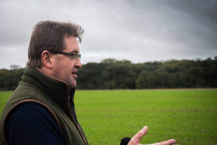 Holkham Farm Manager James Beamish
