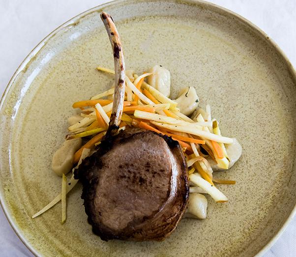 A pork chop in Sweden