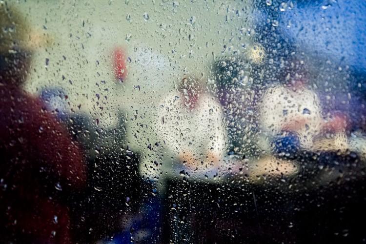 Wet window at Hastings Seafood School